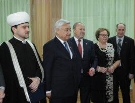 Рушан Әббасов (с), Фәрит Мөхәммәтшин, Равил Әхмәтшин, Лемма Гирфанова
