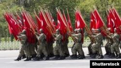 Ankarada hərbi parad