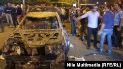 إنفجار سابق في القاهرة