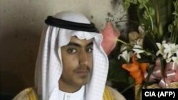 Hamza bin Laden, o imagine video distribuită de CIA în 2017
