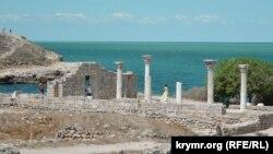 Херсонес: заборонений пляж і археологічні розкопки (фотогалерея)