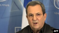 Израиль қорғаныс министрі Эхуд Барак. Тель-Авив, 14 қараша 2012 жыл.