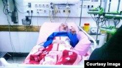 تازهترین عکس از میرحسین موسوی، در بیمارستان