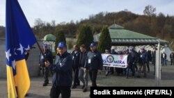 Bosnia and Herzegovina--Peace march Srebrenica-Vukovar, Srebrenica, 11 November, 2019.