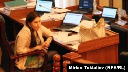 Депутат Ширин Айтматова