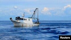 Рыбацкое судно, иллюстрационное фото