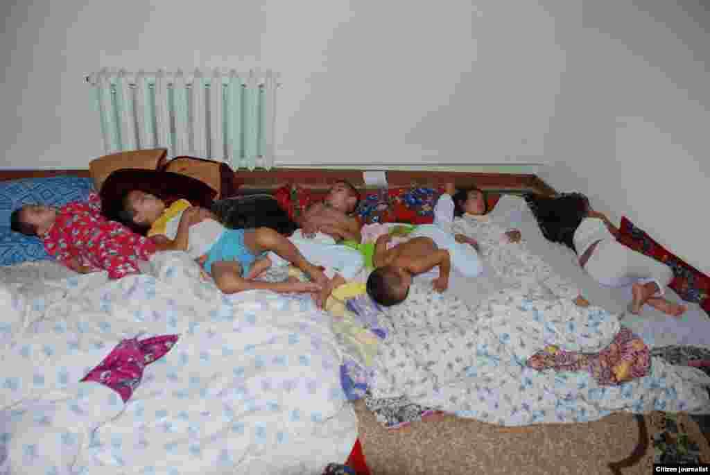 Спящие ангелы. Прислал Шынгыс Маман