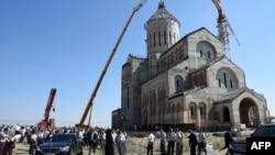 Храм Чудотворной Иверской иконы Божьей Матери возвели в Тбилиси по инициативе главы ГПЦ, при содействии фонда«Иверииса»