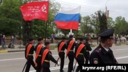 Репетиция парада ко Дню победы в Керчи. 7 мая 2018 года