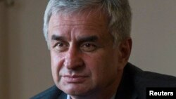 Новоизбранный президент Абхазии Рауль Хаджимба.