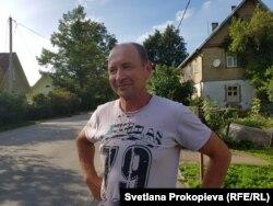 Владимир, житель центральной улицы Печорской, где газовой трубы нет
