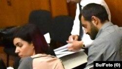 Антон Божков и съпругата му Ива Софиянска в специализирания наказателен съд в сряда