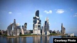Проект Khazar Islands