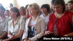 Учителя и родители учащихся одной из темиртауских школ.