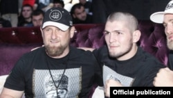 Рамзан Кадыров и Хабиб Нурмагомедов.