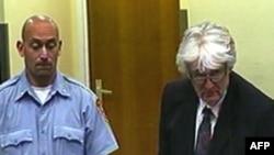 Sa suđenja Radovanu Karadžić pred haškim Tribunalom optuženim za genocid