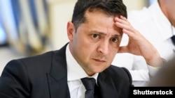 Прэзыдэнт Украіны Ўладзімір Зяленскі