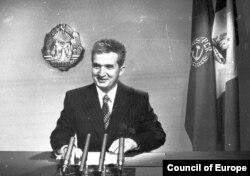 Николае Чаушеску поздравляет свой народ с Новым годом. 1978 год