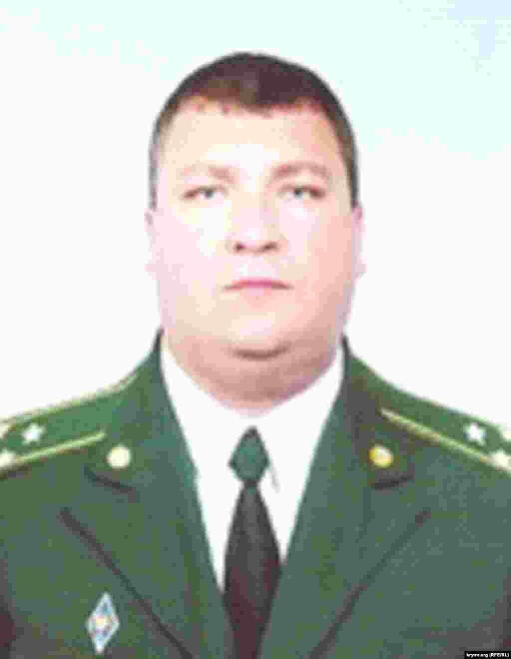 Андрей Порвалов - сотрудник ФСБ на судостроительном заводе «Море» (Феодосия)