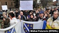 Сараевские демонстранты требуют отставки правительства