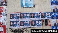 Posterë nga fushata parazgjedhore në Prishtinë