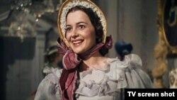 تصویری از فیلم کلاسیک «بر باد رفته»؛ اولیویا دو هاویلند در نقش ملانی همیلتون