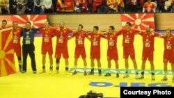 Ракометна репрезентација на Македонија.