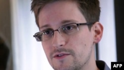 Former U.S. intelligence contractor Edward Snowden (file photo)