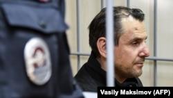 Обвиняемый в нападении на Татьяну Фельгенгауэр Борис Гриц