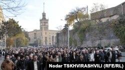 საპროტესტო მსვლელობა თბილისში