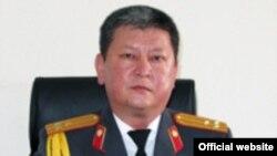 Ички иштер министринин орун басары Памир Асанов.