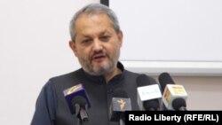 فیروز الدین فیروز وزیر صحت عامۀ افغانستان