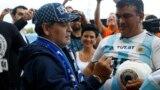 Марадона в Бресте: получил дорогой перстень и пообещал построить стадион имени арабского шейха
