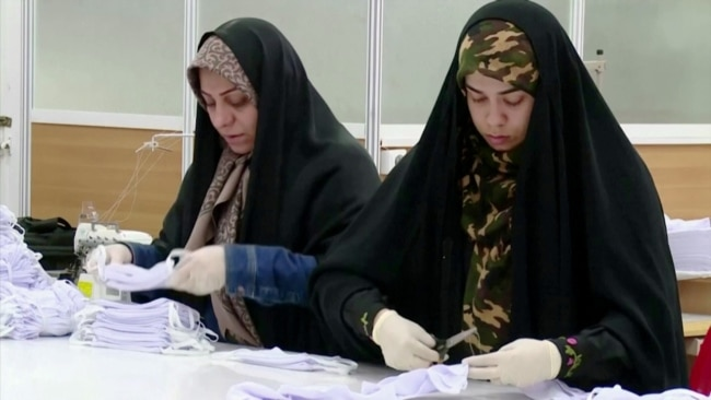 Iranians Turn To Good Deeds In Dark Times
