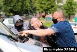 Затримання Павла Северинця, Мінськ, 7 червня 2020 року