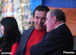 Gagik Tsarukian və Levon Ter-Petrossian