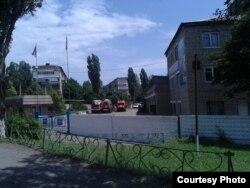 Фото автора: частина «МНС» в Торезі під час «тривоги»