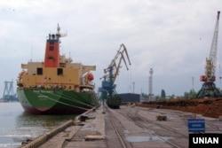 ДП «Миколаївський морський торговельний порт» в Миколаєві. Липень 2015 року