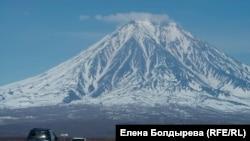 Камчатка Вулкан Корякский