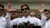 Pakistanyň premýer-ministri Imran Khan.
