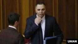 Андрей Портнов в зале заседаний Верховной Рады в Киеве. 7 ноября 2013 года.