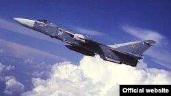 Ілюстрацыйнае фота. Самалёт Су-24