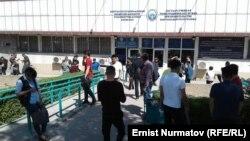 """""""Унаа"""" мамлекеттик ишканасынын Бишкек шаардык бөлүмү."""