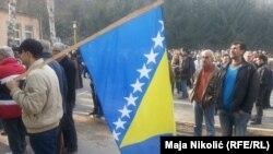 Demonstracije u Tuzli, ilustrativna fotografija