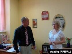 Илдус Хуҗин белән Венера Гатауллина репетиция вакытында