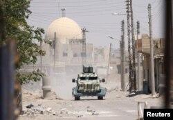 «Suriya Demokratik Qüvvələri»ni (SDF) Raqqada