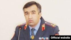 Шоди Хафиззода, начальник УБОП МВД Таджикистана