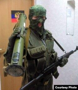 Беларускі баец арміі «ДНР» Аляксей Маркулевіч