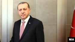 رجب طیب اردوغان رئیس جمهور ترکیه با همتای امریکایی اش بارک اوباما دیدار کرد.