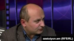 Ստեփան Սաֆարյանը «Ազատության» ստուդիայում, արխիվ: